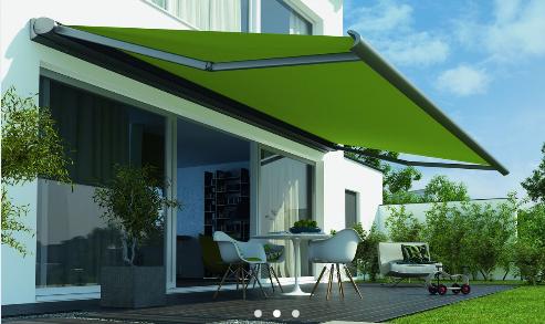 Smart Home Protection Solaire Sur La Terrasse Sujets